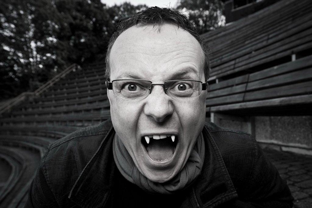 Porträt für eine Kampagne der Stadtwerke Thale / BS|ENERGY: Ronny Große, Leiter des Fairytale-Theaters in Thale