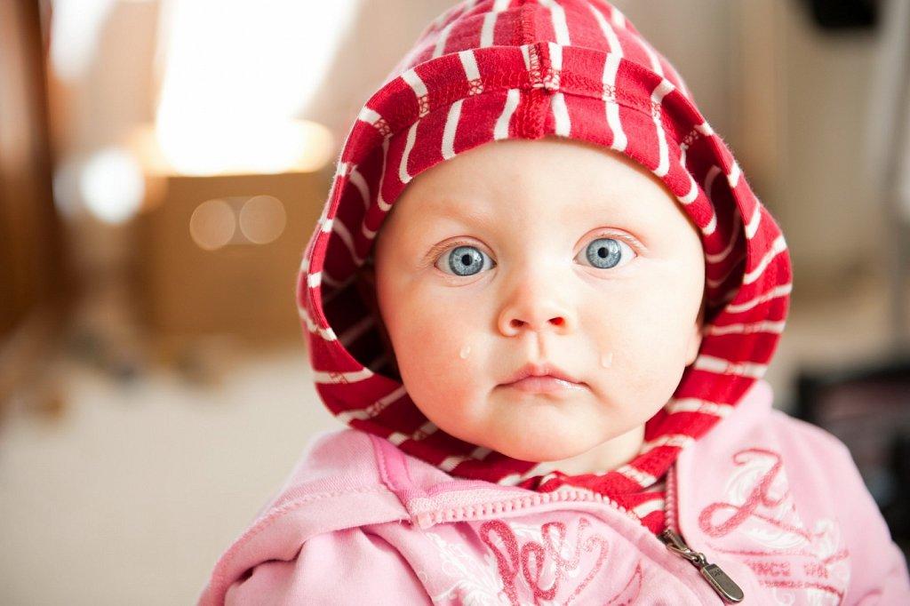 Kleinstmodel Julika mit dicken Kullertränen
