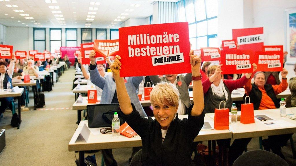 Parteitag der Partei »DIE LINKE« in Magdeburg