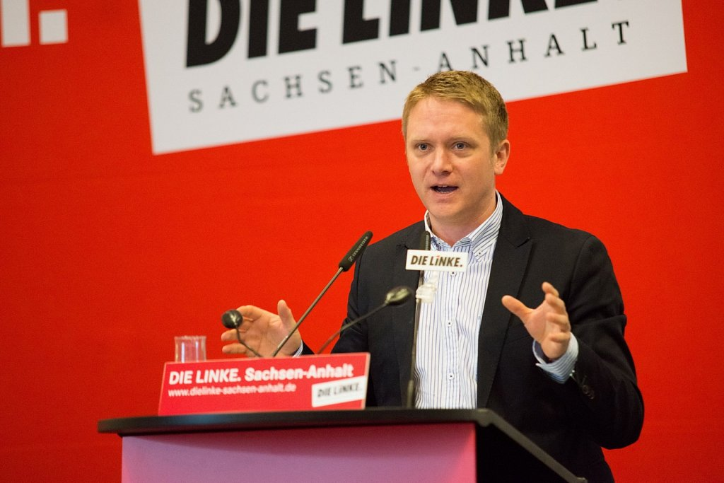 Parteitag der Partei »DIE LINKE.« in Magdeburg