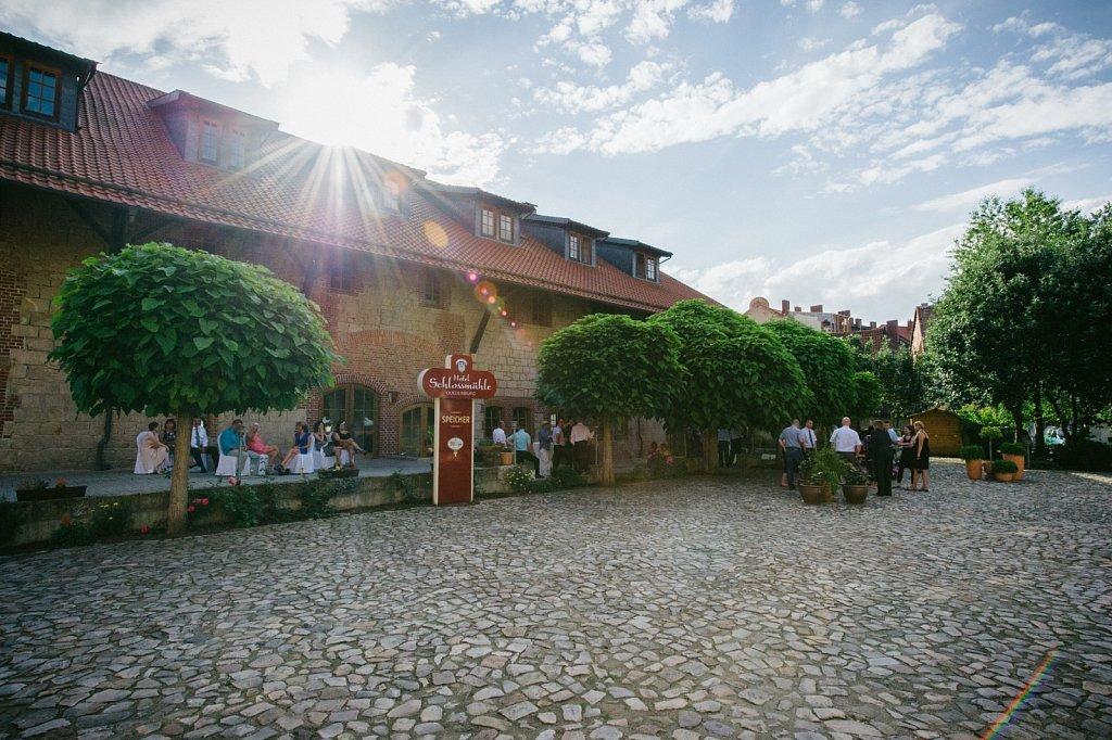 Im Hotel »Schlossmühle« in Quedlinburg