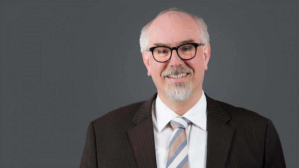 Portrait - Oberbürgermeisterkandidat der Stadt Quedlinburg Bernd Skudelny