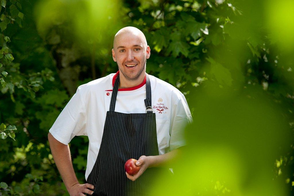 Küchendirektor Thomas Barth im »Landhaus Zu den Rothen Forellen«