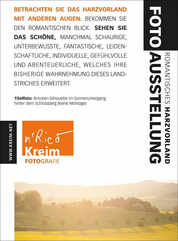 Fotoausstellung »Romantisches Harzvorland«